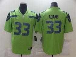 Mens Nfl Seattle Seahawks #33 Jamal Adams Green Vapor Untouchable Limited Nike Jersey