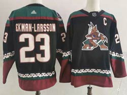Mens Nhl Arizona Coyotes #23 Oliver Ekman-larsson Alternate Premier Black Adidas Jersey