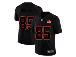 Mens Nfl Cincinnati Bengals #85 Tee Higgins 2021 Black (black Name) 3th Vapor Untouchable Limited Nike Jersey