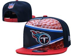 Mens Nfl Tennessee Titans Falt Snapback Adjustable Hats Multicolor
