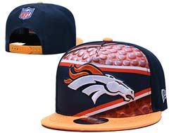 Mens Nfl Denver Broncos Falt Snapback Adjustable Hats Multicolor