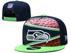 Mens Nfl Seattle Seahawks Falt Snapback Adjustable Hats Multicolor