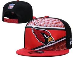 Mens Nfl Arizona Cardinals Falt Snapback Adjustable Hats Multicolor