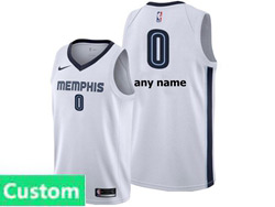 Mens Womens Youth Nba Memphis Grizzlies Custom Made White Association Edition Nike Swingman Jersey