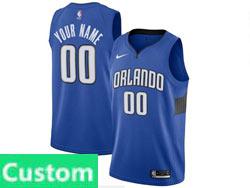 Mens Womens Youth Nba Orlando Magic Custom Made Blue Statement Edition Swingman Nike Jersey