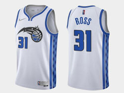 Mens 2020-21 Nba Orlando Magic #31 Terrence Ross White Earned Edition Swingman Nike Jersey