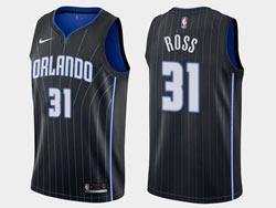 Mens 2020-21 Nba Orlando Magic #31 Terrence Ross Black Icon Edition Swingman Nike Jersey