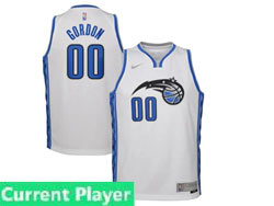 Mens Womens Youth 2020-21 Nba Orlando Magic Current Player White Earned Edition Swingman Nike Jersey