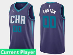 Mens Women Youth 2021 Nba Charlotte Hornets Current Player Jordan Brand Purple Statement Edition Swingman Jersey