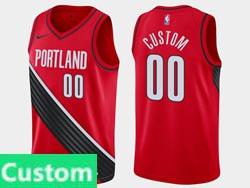 Mens Womens Youth Nba Portland Trail Blazers Custom Made Jordan Brand Red Statement Edition Swingman Jersey