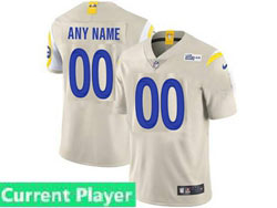 Mens Women Youth Nfl Los Angeles Rams 2020 Cream Current Player Vapor Untouchable Limited Jersey