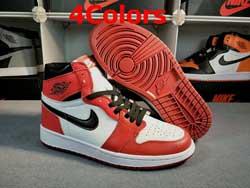 Mens And Women Nike Air Jordan1 Aj1 High-top Basketball Shoes 4 Colors