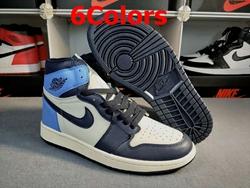 Mens And Women Nike Air Jordan1 Aj1 High-top Basketball Shoes 6 Colors