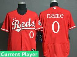Mens Nike 2020 Cincinnati Reds Flex Base Current Player Red Jersey