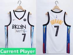 Mens Women Youth 2021 Nba Brooklyn Nets Current Player White Motorola Logo City Edition Nike Swingman Jersey