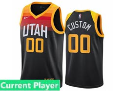 Mens Women Youth 2021 Nba Utah Jazz Current Player Black City Edition Nike Swingman Jersey