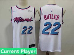 Mens Womens Youth Nba Miami Heat Current Player White Nike Vice Uniform City Edition Swingman Jersey