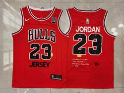 Mens Nba Chicago Bulls #23 Michael Jordan Red 85 Hardwood Classics Nike Swingman Jersey