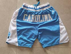 Mens Ncaa Nba North Carolina Jordan Brand Blue Just Don Pocket Shorts