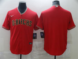 Mens Mlb Arizona Diamondbacks Blank Red Cool Base Nike Jersey