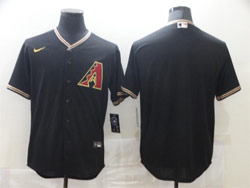 Mens Mlb Arizona Diamondbacks Blank Nike Black Cool Base Jersey