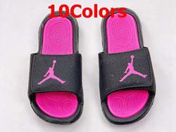 Mens And Women Air Jordan Hydro 6 Slide Shoes 10 Colors