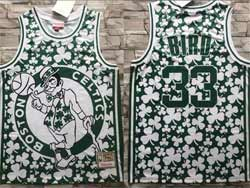 Mens Nba Boston Celtics #33 Larry Bird Green Mitchell&ness Hardwood Classics Swingman Jersey