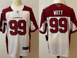 Mens Nfl Arizona Cardinals #99 J.j. Watt White Vapor Untouchable Limited Nike Jersey