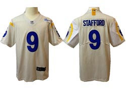 Mens Nfl Los Angeles Rams #9 Matthew Stafford White Vapor Untouchable Limited Nike Jersey