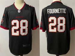 Mens Nfl Tampa Bay Buccaneers #28 Leonard Fournette Gray Vapor Untouchable Limited Nike Jersey