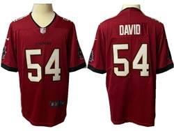 Mens Nfl Tampa Bay Buccaneers #54 Lavonte David Red Vapor Untouchable Limited Jersey