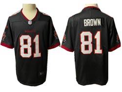 Mens Nfl Tampa Bay Buccaneers #81 Antonio Brown Gray Vapor Untouchable Limited Nike Jersey
