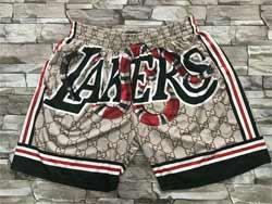 Mens Nba Los Angeles Lakers Kobe Bryant Mitchell&ness Hardwood Classics Pocket Shorts