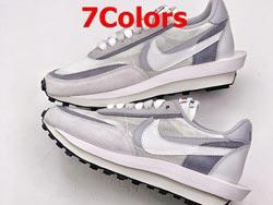 Mens And Women Sacai X Nike Ldv Waffle Daybreak Running Shoes 7 Colors