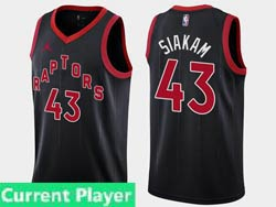 Mens Womens Youth Nba Toronto Raptors Current Player 2021 Black Statement Edition Jordan Swingman Jersey