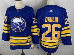 Mens 2021 Nhl Buffalo Sabres #26 Rasmus Dahlin Blue Adidas Jersey