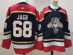Mens Nhl Florida Panthers #68 Jaromir Jagr Blue Reverse Retro Alternate Adidas Jersey