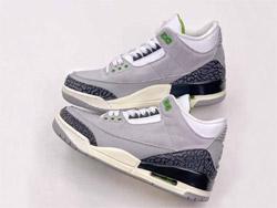 Mens Air Jordan 3 Retro Chlorophyll Running Shoes One Color