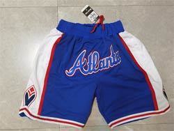 Mens Mlb Atlanta Braves Blue Just Don Pocket Shorts