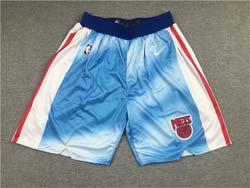 Mens Nba Brooklyn Nets Blue No Pocket Shorts