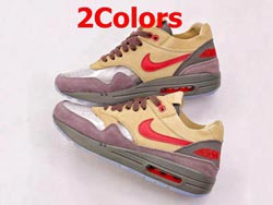 Mens And Women Clot X Nike Air Max 1 Kiss Of Death Running Shoes 2 Colors