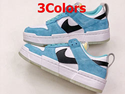 Mens And Women Nike Dunk Low Disrupt Running Shoes 3 Colors