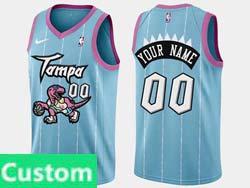 Mens Womens Youth Nba Toronto Raptors Custom Made Light Blue Swingman Nike Jersey