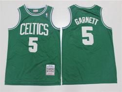 Mens Nba Boston Celtics #5 Kevin Garnett Green 07-08 Mitchell&ness Hardwood Classics Swingman Jersey