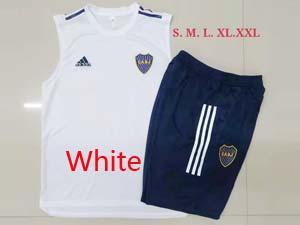 Mens 21-22 Soccer Atletico Boca Juniors Vest Suit 2 Color