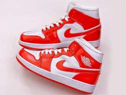 Mens And Women Nike Air Jordan 1 Mid Basketball Shoes One Color