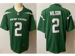 Mens Nfl New York Jets #2 Zach Wilson Green Vapor Untouchable Limited Nike Jersey