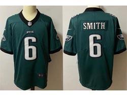 Mens Nfl Philadelphia Eagles #6 Devonta Smith Green Vapor Untouchable Limited Nike Jersey