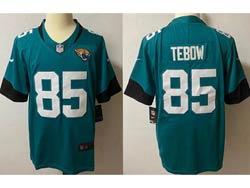 Mens Nfl Jacksonville Jaguars #85 Tim Tebow Green Vapor Untouchable Limited Nike Jersey