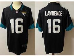 Mens Nfl Jacksonville Jaguars #16 Trevor Lawrence Black Vapor Untouchable Limited Nike Jersey